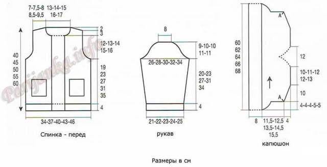 Свитер крючком (женский и мужской): вяжем со схемами для девочки и для мальчика