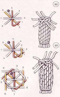 Кашпо макраме для цветов: мастер класс, схемы и инструкция