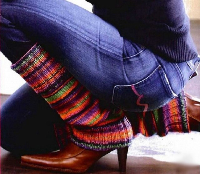Гетры спицами: пошаговый мастер-класс для начинающих