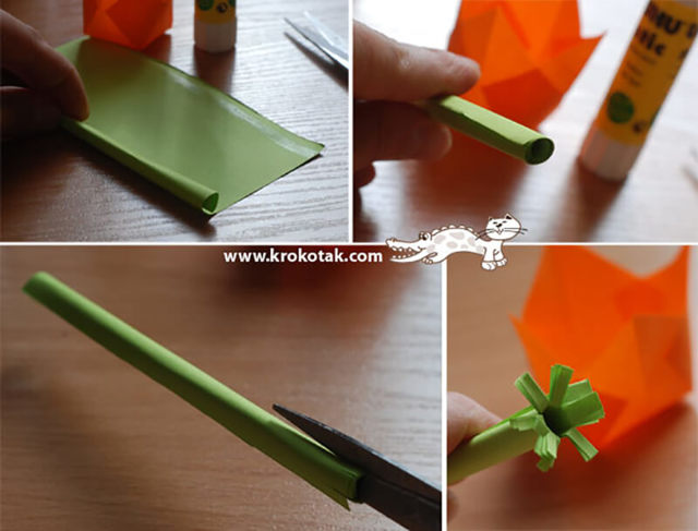Как сделать тюльпан из бумаги своими руками: схема и инструкция