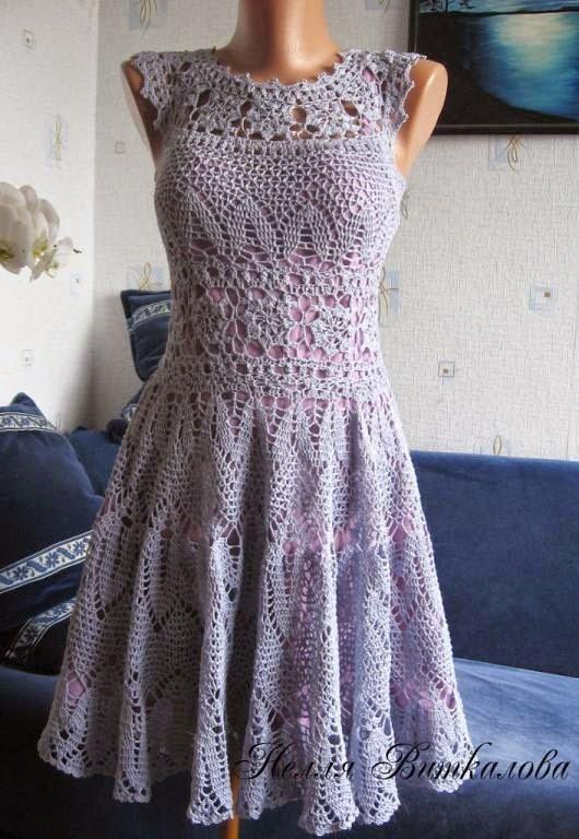 Ажурное платье крючком: для куклы, для женщин и для новорожденной девочки