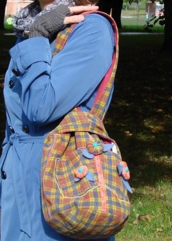 Сумка через плечо своими руками: мастер класс для новичков рукоделия