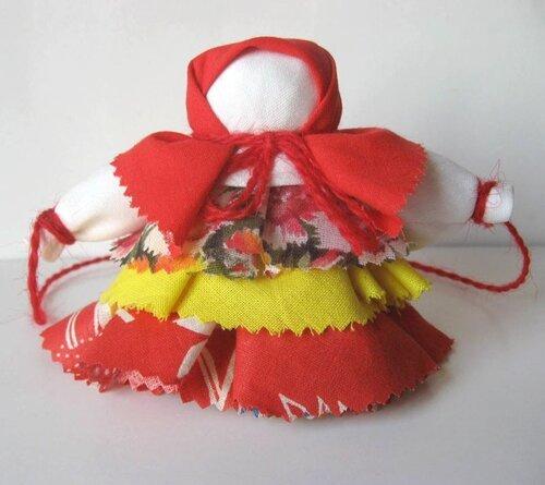 Кукла-колокольчик: мастер класс и схема изготовления