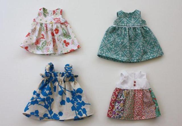 Одежда для пупса своими руками: схемы с описанием