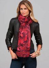 Виды шарфов и их названия: разбираем разнообразие шарфов хомутов с фото
