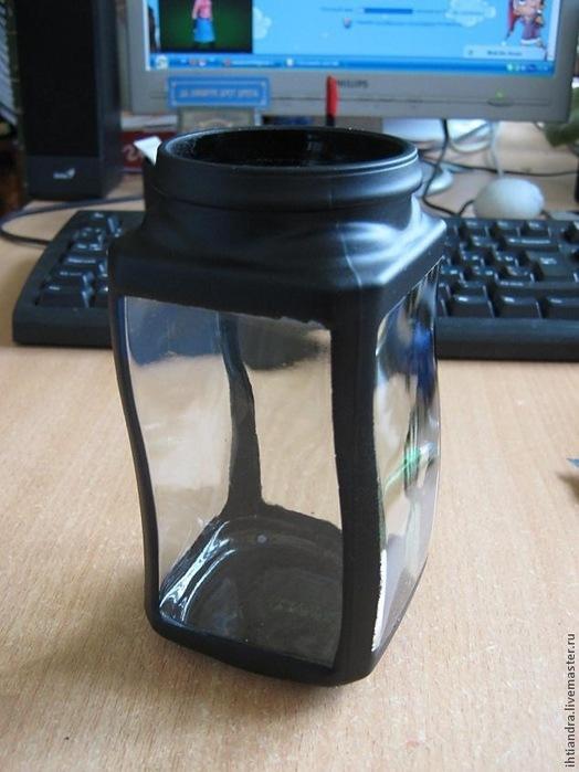Декупаж банок: стеклянных, жестяных, пластиковых, из-под кофе и других