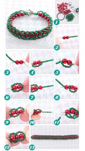 Поделки из бисера для начинающих: как сделать своими руками (инструкции с фото и видео)